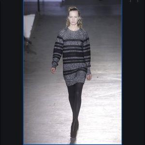 3.1 Phillip Lim Runway Striped Sweater Dress Small